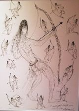 DeGrazia - Archers
