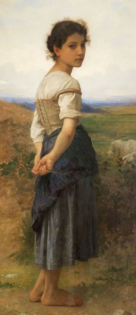 Art Gallery - William-Adolphe Bouguereau - The Young Sheperdess