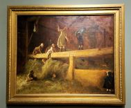 SD MOA - In the Hayloft by Eastman Johnson - Copy