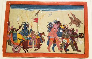 SD MOA - The Demon Dhumraksha Leads His Army