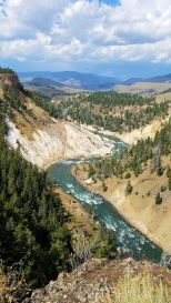 Yellowstone - Calcite Springs 1