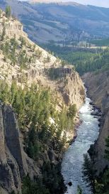 Yellowstone - Calcite Springs - Columnar Basalt at Top 2