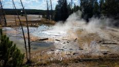 Yellowstone - Norris Geyser Basin - Black Basin - 6