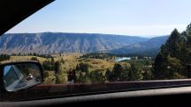 Yellowstone - On the Way to Mammoth Hot Springs 2