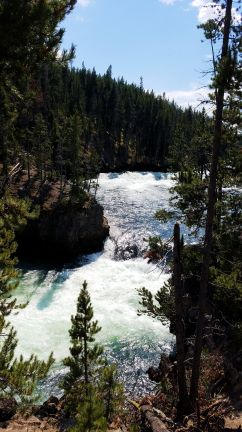 Yellowstone River - Just Before the Falls 2