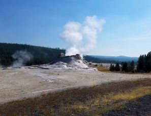 Yellowstone - UGB - Castle Geyser - 2