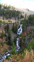 Yellowstone - Undine Falls 1