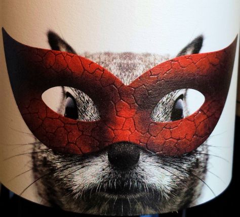 Squirrel Wine Label