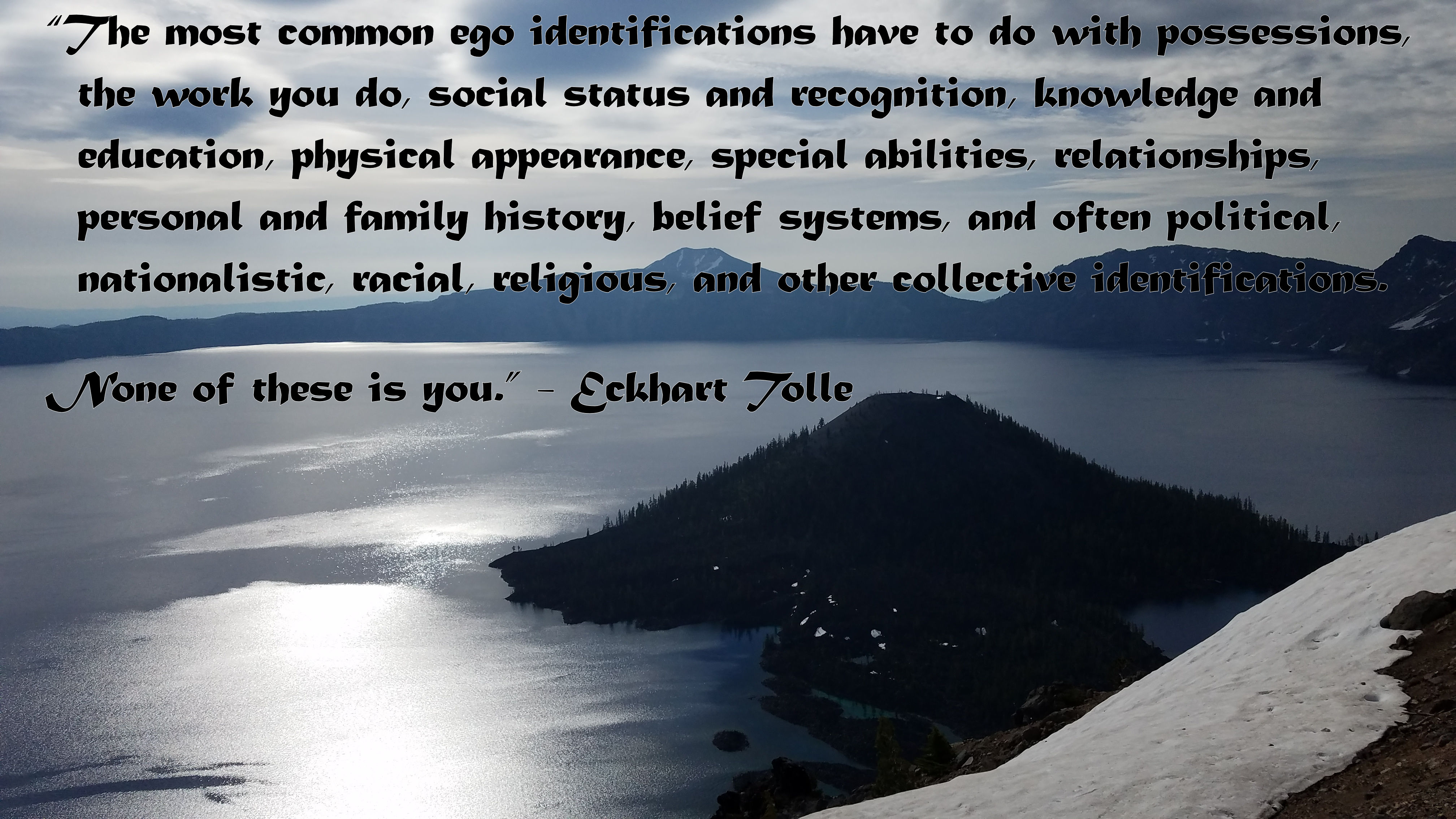 Crater Lake - 1A with Quote 2