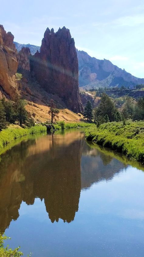 Smith Rock - Reflections