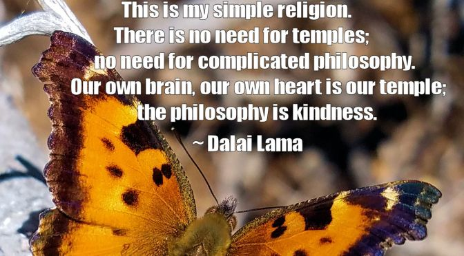 The Philosophy is Kindness